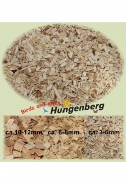 Buchenholzgranulat fein, 20 kg