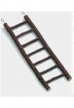 Naturholz Leiter 9 Stufen, 39 cm